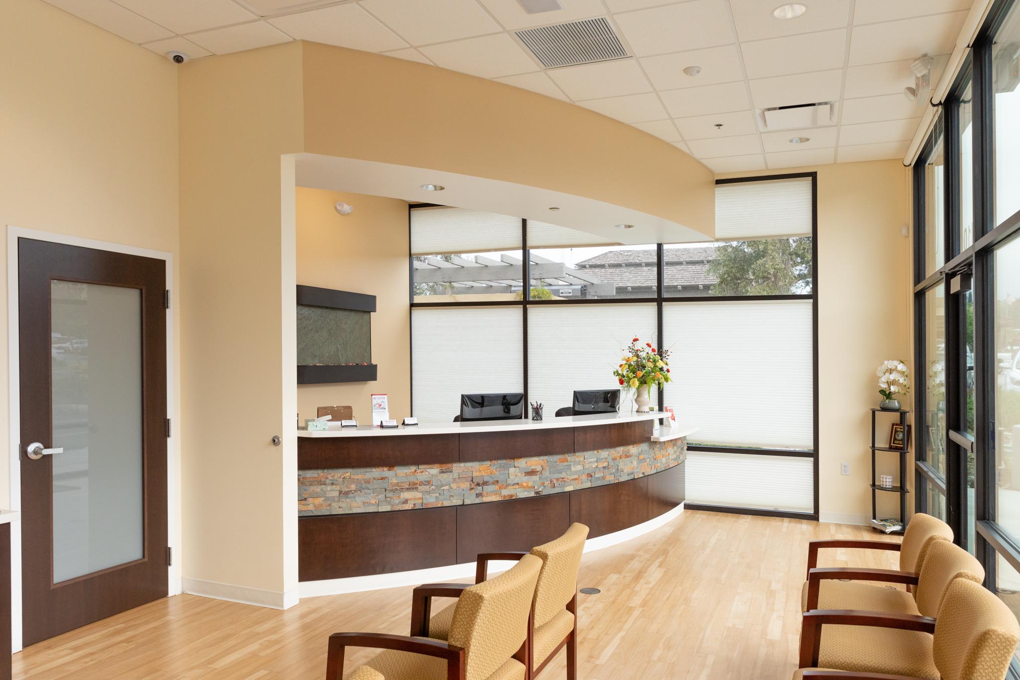 entrance and reception desk at Haven Elite Urgent Care
