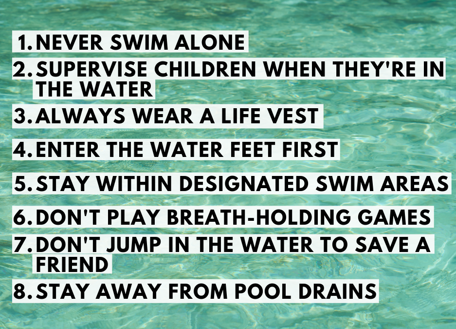 water safety swim tips