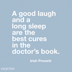 image of a quote from irish proverbs