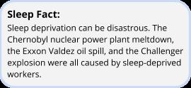 image of sleep fact on deprivation