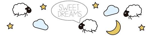 image of sleeping sheep at night stars, clouds and stars